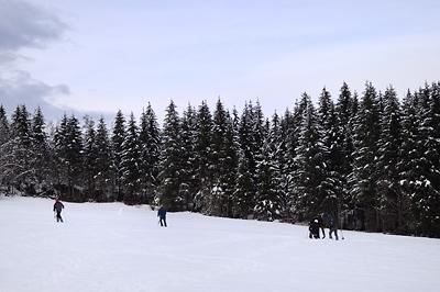 photo montagne alpes belledonne randonnée raquettes ski martinette