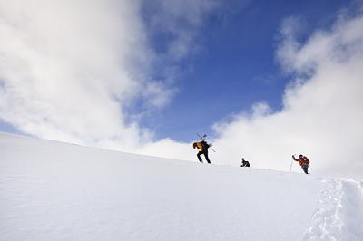 photo montagne alpes belledonne randonnée raquettes ski surf snowboard
