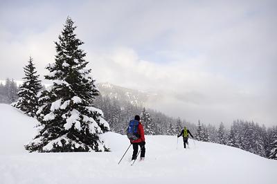 photo montagne alpes belledonne randonnée raquettes ski rando