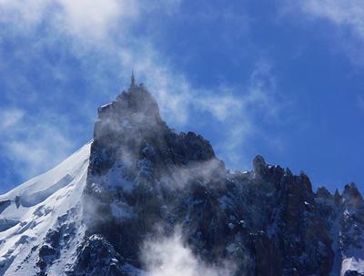 photo montagne alpes randonnée aiguillette des houches aiguille du midi
