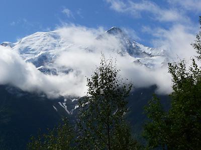 photo montagne alpes randonnée aiguillette des houches mont blanc