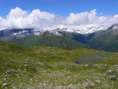 photo montagne alpes randonnée aiguillette des houches plateau de carlaveyron