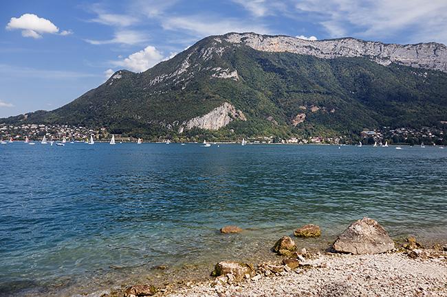 photo montagne alpes haute savoie annecy lac velo