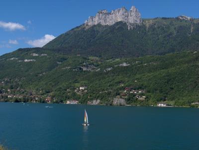photo belvédère lac Annecy