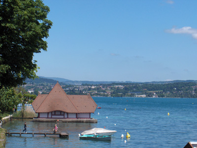 photo rives lac Annecy