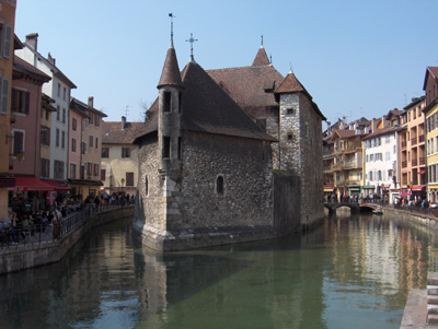 photo Annecy la vieille ville
