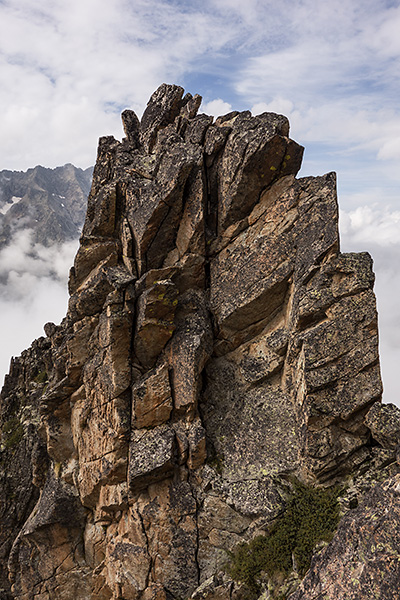 photo montagne alpes alpinisme escalade ecrins olan pointe du vallonnet arête des murois