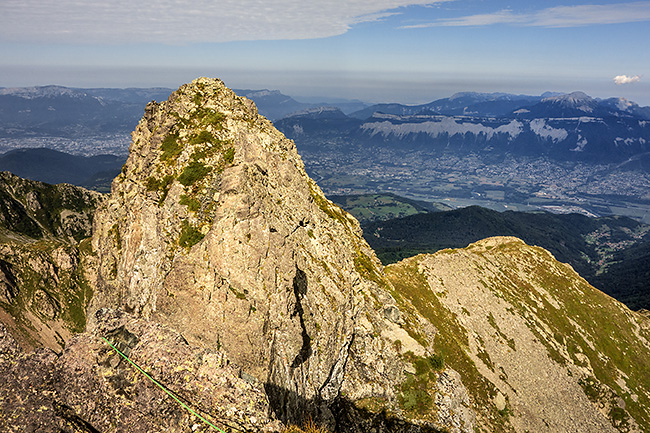 photo montagne alpes escalade grande voie alpinisme belledonne aretes dents du loup