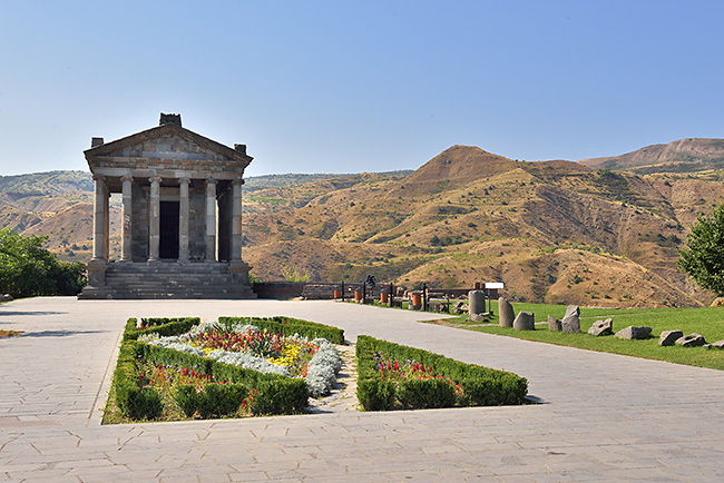 photo voyage asie centrale europe caucase armenie temple garni