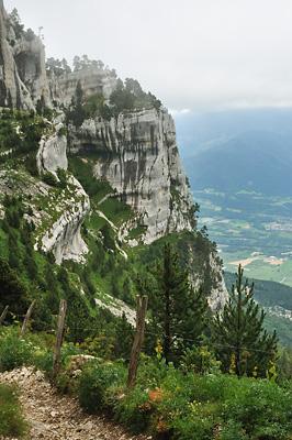 photo montagne randonnée chartreuse plateaux aulp seuil