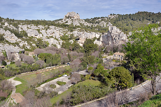 photo france provence paca baux de provence visite tourisme