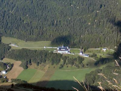 photo montagne alpes randonnée Belle Etoile Abbaye Tamié