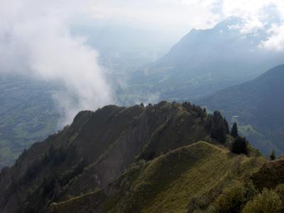 photo montagne alpes randonnée Belle Etoile arête vue sommet