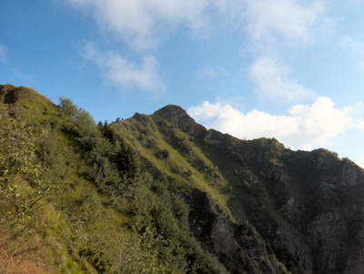 photo montagne alpes randonnée Belle Etoile arête croix Perillet