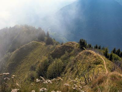 photo montagne alpes randonnée Belle Etoile sentier arête