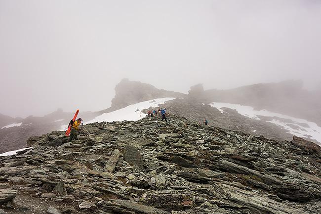 photo montagne alpes alpinisme suisse valais zinal tracuit bishorn