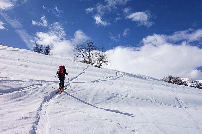 photo montagne alpes randonnée rando ski savoie vanoise lauzière cabane pierre larron creve tete