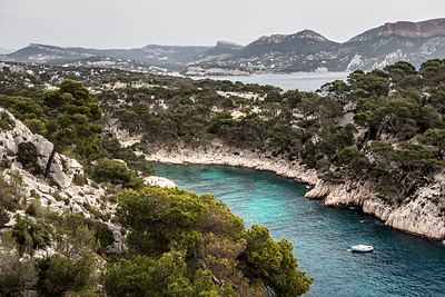 photo calanques marseille cassis port miou en vau