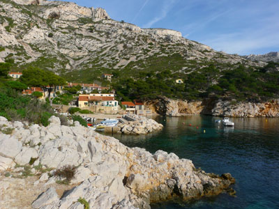 photo montagne randonnée calanques