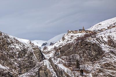photo montagne alpes oisans ecrins la grave cascade glace nuit sera fraiche