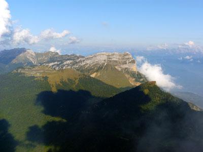 photo montagne alpes randonnée chamechaude dent de crolles