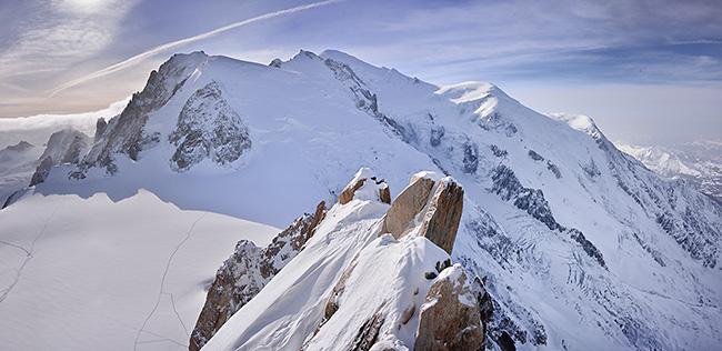 photo montagne alpes randonnée haute savoie chamonix mont blanc aiguille du midi