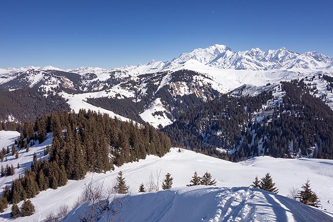 photo montagne alpes randonnée rando raquettes savoie beaufortain les saisies crest voland notre dame de bellecombe chard du beurre