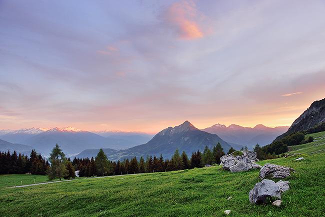 photo montagne alpes randonnée rando savoie aravis albertville ugine col arpettaz