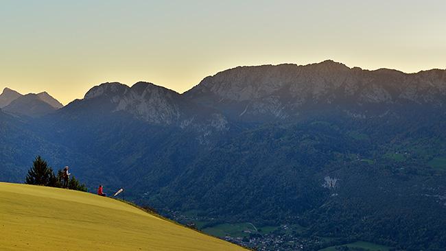 photo montagne alpes randonnée rando savoie aravis annecy col forclaz