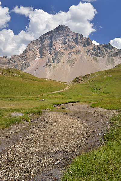 photo montagne alpes randonnée rando savoie hautes alpes cerces valloire col galibier