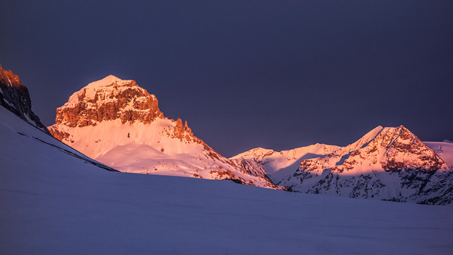 photo montagne alpes ski randonnée rando savoie tarentaise vanoise pralognan col de la vanoise col de la grande casse