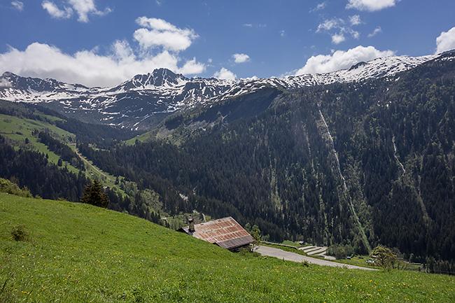 photo montagne alpes savoie beaufortain hauteluce contamines col joly velo