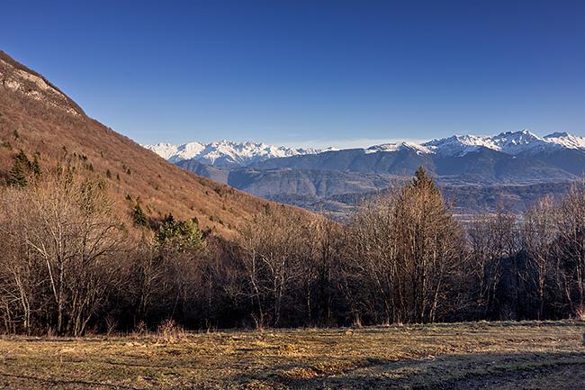 photo montagne alpes savoie bauges chambery montmelian col marocaz velo