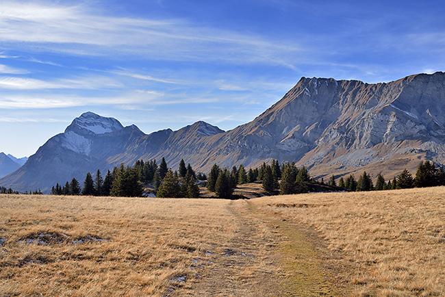 photo montagne alpes randonnée rando savoie aravis arly albertville flumet megeve croix cartier stata