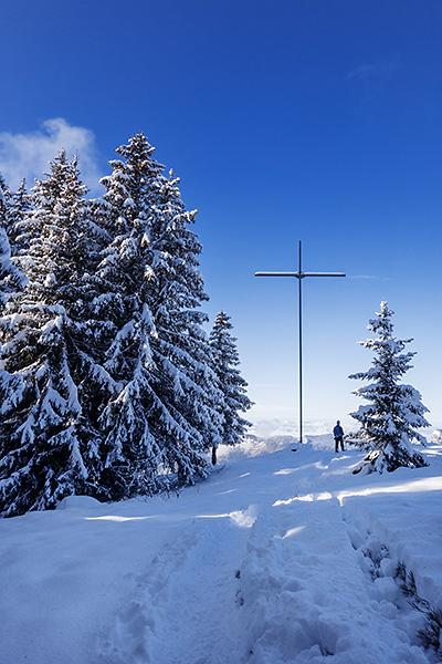 photo montagne alpes randonnée rando raquettes haute savoie aravis manigod col croix fry croix colomban plateau beauregard