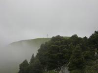 photo montagne alpes randonnée Croix de l'Alpe Chartreuse Croix de l'Alpe brouillard