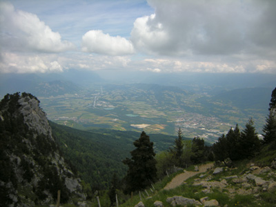 photo montagne alpes randonnée Croix de l'Alpe Chartreuse vue