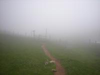 photo montagne alpes randonnée Croix de l'Alpe Chartreuse brouillard