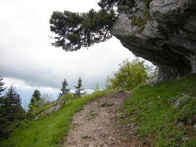 photo montagne alpes randonnée Croix de l'Alpe Chartreuse Sentier Rochers de Belles Ombres