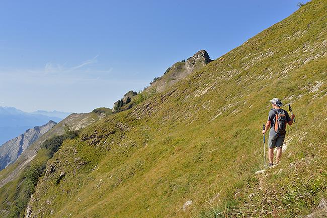 photo montagne alpes randonnée rando savoie albertville bauges dent cons