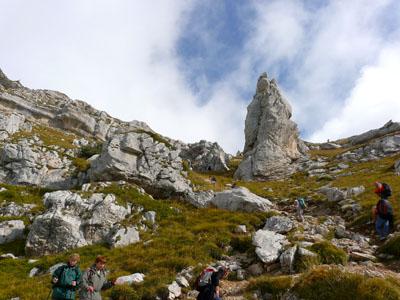 photo montagne alpes randonnée dent de crolles pas de l'oeil
