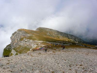 photo montagne alpes randonnée dent de crolles sommet plateau