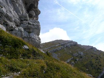 photo montagne alpes randonnée dent de crolles sommet