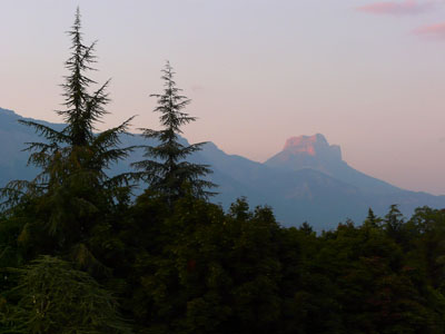 photo montagne alpes randonnée dent de crolles
