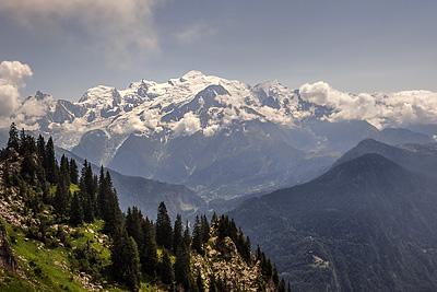 photo montagne alpes fiz haut giffre desert plate