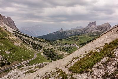 photo montagne alpes dolomites passo falzarego