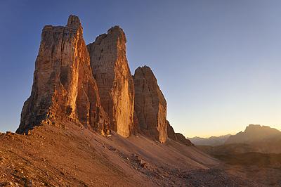 photo montagne alpes dolomites tre cime di lavaredo