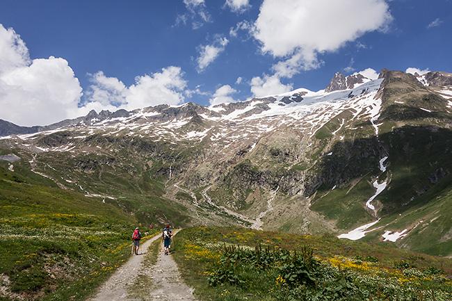 photo montagne alpes alpinisme haute savoie chapieux bourg saint maurice ville des glaciers mont blanc arete des lanchettes dome des glaciers