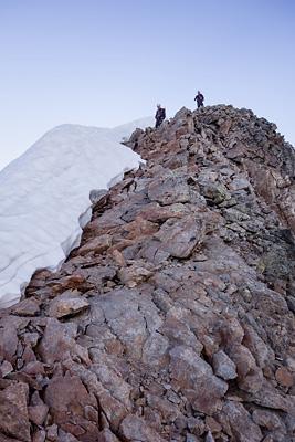 photo montagne alpes beaufortain mont blanc arete lanchettes