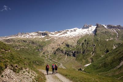 photo montagne alpes beaufortain mont blanc vallee glaciers